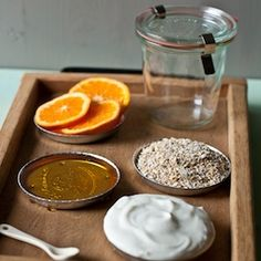 A simple, all-natural moisturizing orange face mask to soothe dry winter skin. It's food for your face!