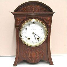 Antique Seth Thomas Marquetry  Mantel Clock 100% Original