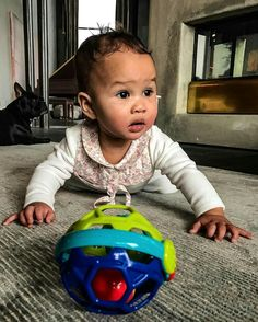 """Celebrity Check... John Legend: the little one, """"9 months old today!"""""""