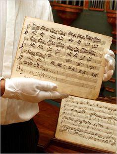 found Mozart manuscript