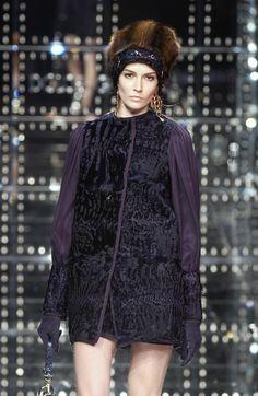 Dolce & Gabbana at Milan Fashion Week Fall 2005 - Runway Photos