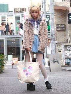 Japanese Streets, Japanese Street Fashion, Tokyo Fashion, Harajuku Fashion, Kawaii Fashion, Urban Fashion, Fashion Women, Japan Street, Tokyo Street Style