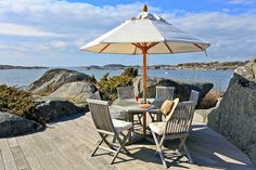 The Beach, Nordic Living, Outside Living, Backyard, Patio, Beach Cottages, Dream Garden, The Good Place, Architecture Design