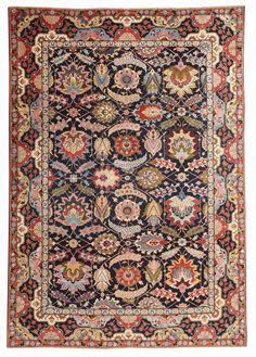 Antique Tabriz Persian Rug - By Nazmiyal