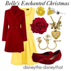 """Belle's Enchanted Christmas""  DisneyThis-DisneyThat on Tumblr"