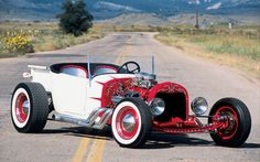 1927 For T Coupe Truck