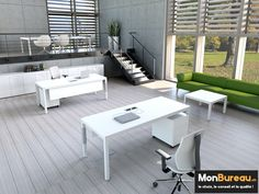 MonBureauch Office fourniture Bureau de direction Mito