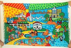 Cangas de Praia Verão 2014 - Espírito Santo Andreza Katsani - LIcenciado - Todos os direitos reservados Snoopy, Fictional Characters, Beach Quilt, Holy Ghost