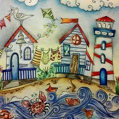 Happy memories at the beach #ritaberman #meinsommerspaziergang #ausmalen #artecomoterapia #arte_e_colorir #colortherapy #coloringforgrownups #coloridos #coloriagepouradultes #bayan_boyan #majesticcoloring#creativityfound #prismacolorpencils #wonderfulcoloring #coloriageantistress #colortherapy #colouringin #colorido #creativelycoloring #desenhoscolorir #colorindolivrostop #nossa_vida_colorida #boracolorirtop #coloring_secrets #artoftheday #kolorowanka #coloriage #divasdasartes #colori...