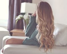 kind of ombre... that would be what I want.... not obvious, so it look natural.... melted looking.