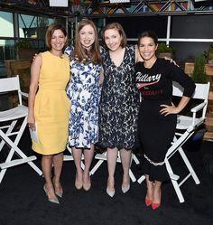 Cindi Leive, Chelsea Clinton, Lena Dunham & America Ferrera: The Big Picture: Today's Hot Pics