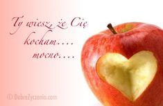 Wiesz, że Cię kocham Apple, Love, Profile, Website, Text Posts, Kid Cooking, Outdoor Cooking, Quotes, User Profile