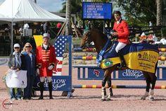 Eugenio Garza perfecto en el $35,000 Hollow Creek Farm U25 Grand Prix.