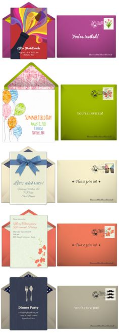 Paper invites are too formal, and emails are too casual. Get it just right with online invitations from Punchbowl. We've got everything you need for your party.  http://www.punchbowl.com/online-invitations/?utm_source=Pinterest&utm_source=6.133P