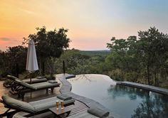 Zwahili Private Game Lodge & Spa is situated 2 hours north of Johannesburg, in a Malaria Free area in the bushveld region of the Limpopo Province. Outdoor Seating, Outdoor Pool, Outdoor Decor, Game Lodge, Beste Hotels, Private Games, December Holidays, Wooden Decks, Restaurant