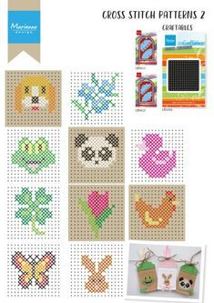 Embroidery patterns with – number 2 – patterns # Source by ihilbrink Tiny Cross Stitch, Cross Stitch For Kids, Cross Stitch Bookmarks, Cross Stitch Cards, Cross Stitch Animals, Cross Stitch Designs, Cross Stitch Patterns, Learn Embroidery, Cross Stitch Embroidery