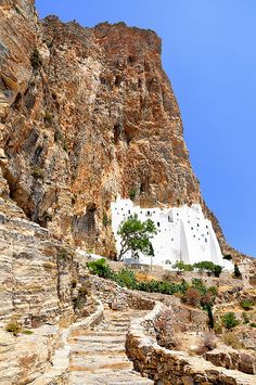 Monastery of Panagia Hozoviotissa, Amorgos