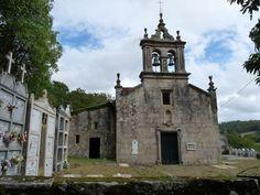 Vila de Cruces. Besexos. Igrexa de San Fiz.