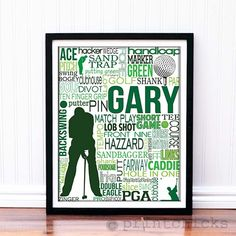 Great golf team gift for your seniors this year!  Personalize with name, colors, logo from your school, year!  A great custom reminder of their team and school fun! www.printchicks.net (special pricing for orders over 5)