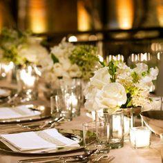 Elegant reception table setting