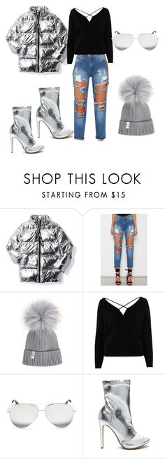 """""""Untitled #125"""" by nusreta-bjelic ❤ liked on Polyvore featuring Ivy Park, River Island and Victoria Beckham"""