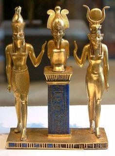 Osiris, Isis et Horus