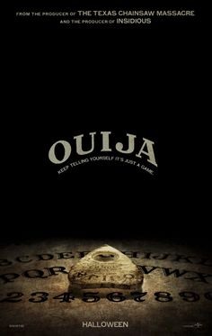 Ouija (2014) I just saw it with my friends and I didn't think it was great. Not scary at all. What a disappointment. Story line was ok but the whole movie should have been better