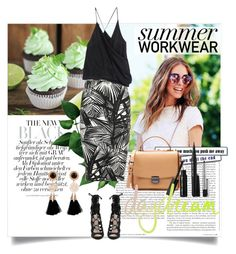 A fashion look from September 2015 featuring no sleeve shirt, white and black jersey and sexy high heel shoes. Browse and shop related looks. Summer Work Wear, Push Me Away, Haider Ackermann, Sexy High Heels, Elizabeth And James, Polyvore Outfits, Shirt Sleeves, Sephora, Zara