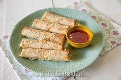 Mozzarella sticks uit de oven + kookfilmpje!