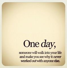 One day,