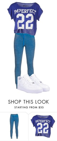 """""""#5"""" by melissagatzia ❤ liked on Polyvore featuring Wildfox, !M?ERFECT and NIKE"""