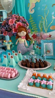 Decoração para Festa Pequena Sereia: Ideias - Toda Atual