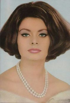 "Sophia Loren,so beautiful and classy. ""Great actress"