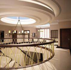 Villa staircase space.