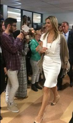 Koningin Máxima brengt werkbezoek aan EigenBaas-programma op Summa College in Eindhoven | ModekoninginMaxima.nl