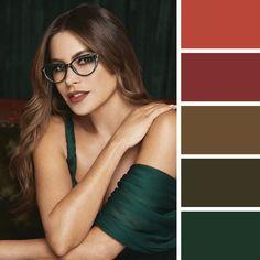 Soft Autumn Color Palette, Skin Color Palette, Autumn Colours, Soft Autumn Deep, Dark Autumn, Deep Winter, Deep Autumn Makeup, Wardrobe Color Guide, Seasonal Color Analysis