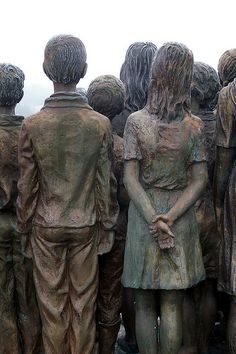 memorial to the executed children of lidice - donald judge