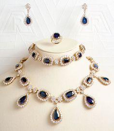 Princess Caroline Bonaparte sapphire parure