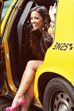 "Rocsi Diaz GETS GLAM'D Up For PYNK Magazine's ""GoodBye New York"" Photoshoot! ~ Gossipwelove"
