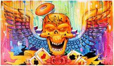 https://flic.kr/p/wj6JA8 | Work on Canvas to the Arte Favela/ Mone e Celo