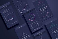 Eight App. Insights. Design by www.anagrama.com