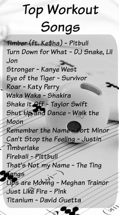 Music can make or break a workout. Here& a list of top Workout Songs to help boost any workout! Music can make or break a workout. Here& a list of top Workout Songs to help boost any workout! Music Mood, Mood Songs, Workout Musik, Top Workout Songs, Song Workouts, Cheer Workouts, Workout Motivation Music, Best Workout Music, Morning Workouts