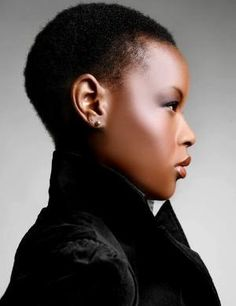 Short short. Love this. #short #hair #beautiful #black #women #woman