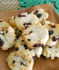 Low Carb Cranberry Almond Cookies - sugar free treats for the holidays!