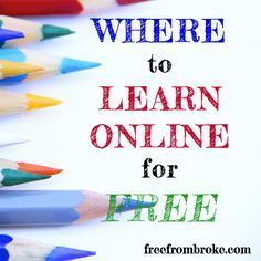 Education doesn't need to be expensive. There are some great resources for learning online that are free. Here are eight sites where you can educate yourself.