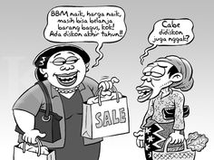 Kartun Benny, Desember 2014: Benny Rachmadi - Berburu Diskon Akhir Tahun