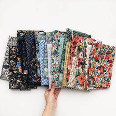 Wildwood Fabric by Rifle Paper Co now at Fabric Bubb Rifle Paper Fabric, Rifle Paper Co, Textile Prints, Textiles, Cute Sewing Projects, Diy Projects, Trend Fabrics, Freelance Graphic Design, Scrappy Quilts