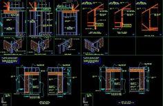 ★【Framing Details】★-CAD Library | AutoCAD Blocks | AutoCAD Symbols | CAD Drawings | Architecture Details│Landscape Details