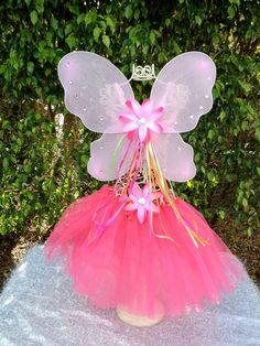 Hot Pink Tutu with light pink Ballet Tutus- Orange, Hot Pink and Lime Ribbon Dress Up Dance Princess Party Tutu