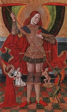 Juan de la Abadia. The Archangel Michael. 1490.